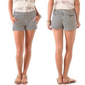 Charlotte Ronson Sailor Stripe Shorts